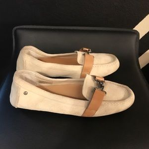 Authentic UGG Suede leather moccasins sz 8